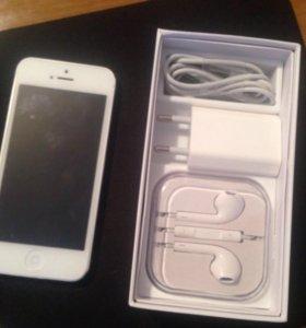iPhone 5, 32 белый