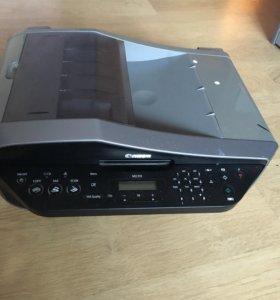 Принтер( струйный) цветной, сканер, копир, факс