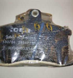Колодки тормозные ICER