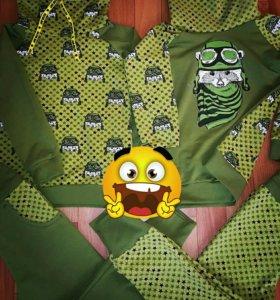 Детские свитшоты, футболки, пижамы на заказ