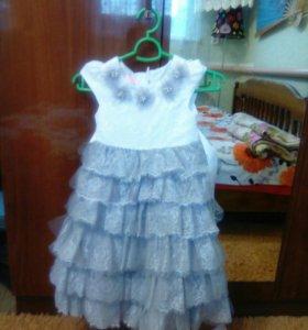 Платье выпускное в сад