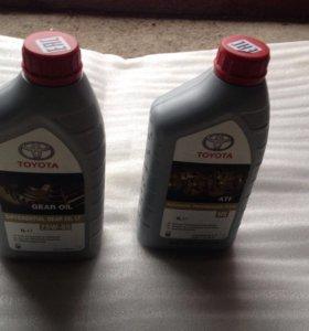Трансмиссионное масло GL-5 TOYOTA 75W-85 и ATF