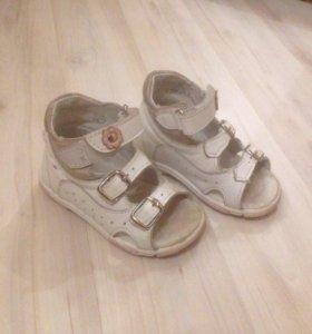 Детские сандали (босоножки) Котофей 21 размер