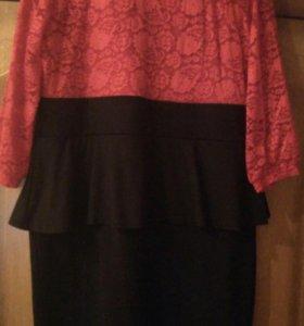 Платье Дарисса 58 размер