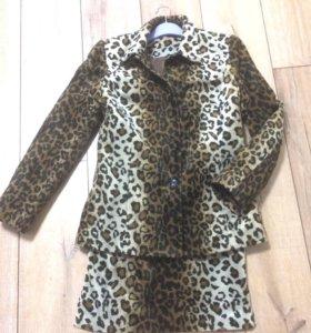 Пальто-пиджак Dorothy Perkins+ юбка