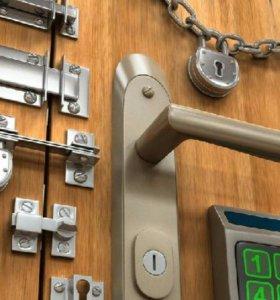 Врезка замков в металлические двери
