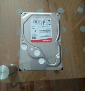 Жесткий диск 4 террабайта, новый