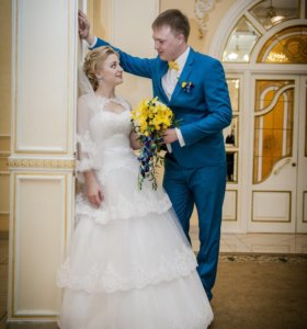Свадебное платье срочно