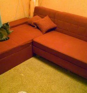 Угловой диван икея