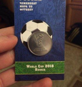 Олимпийская монета по футболу!