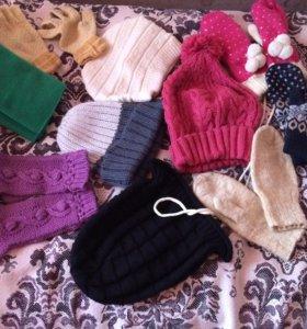 Варежки, перчатки, шапки