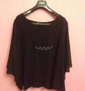 Блузка (чёрная)