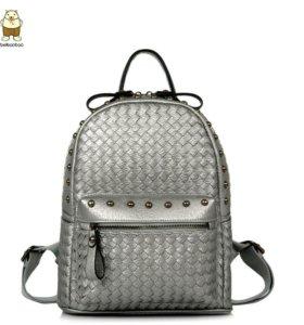 Рюкзак женский 361 (серебро)