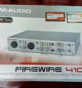 Звуковая карта M-AUDIO FireWire 410