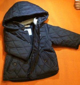 Куртка фирма Zara baby boy