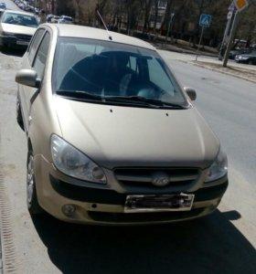 Hyundai getz 2008, 1.4, 97 л.с.