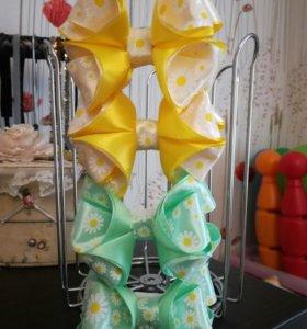 Бантики-резиночки для девочек.