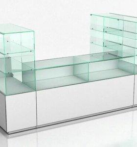 Стол стекляный,б/у