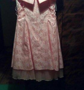 Вечернее платье 52р