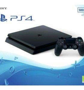 Playstation 4 slim, новая запакована