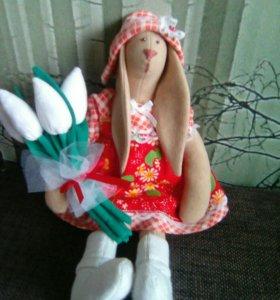 Текстильные куклы и игрушки ручной работы.