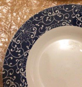 Тарелки новые суповые