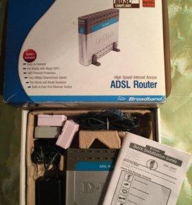 Роутер D-Link DSL-504T