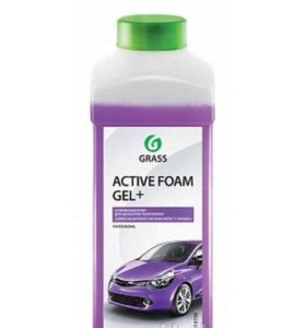 "Автошампунь Grass ""Active Foam GEL+"" 1 литр"