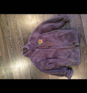 Меховая Детская курточка