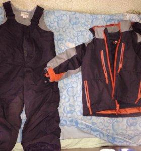 Куртка + комбез+кофта  на 3 года рост 90-100 см