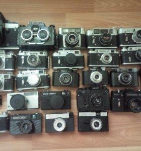 Фотоаппарат времён СССР