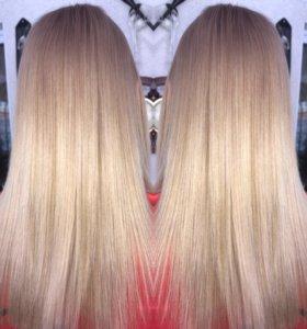 Кератиновое выпрямления волос, ботекс для волос