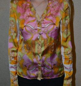 Блуза женская шёлковая