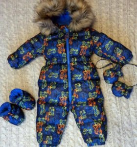 Зимний комбинезон фирмы Baby Go