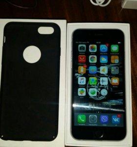 iPhone 6 на 16гб space gray