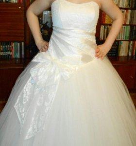 Платье свадебное НОВОЕ торг
