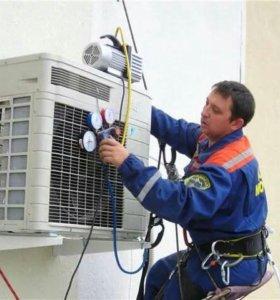 Монтаж, обслуживание кондиционеров и вентиляции
