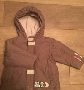 Куртка утеплённая размер 74