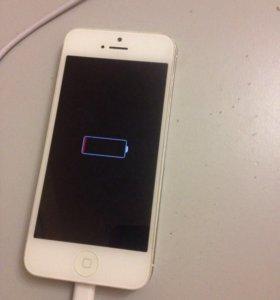 Дисплей на iPhone 5