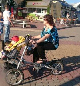 Велосипед-коляска Taga bike