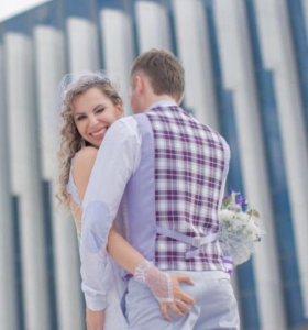 Мужская свадебная жилетка
