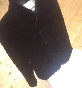 куртка велюра
