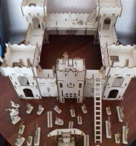 Деревянная крепость