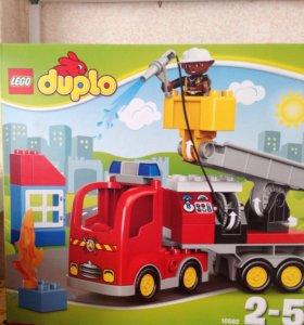 Новая Lego duplo пожарная машина