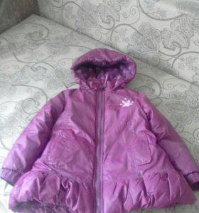 Куртка теплая на октябрь-ноябрь