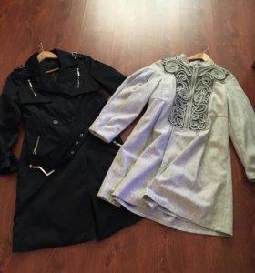 Плащик и пальто- платье