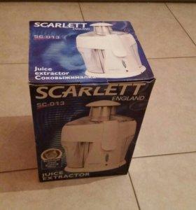 Соковыжималка Scarlett sc-013 новая