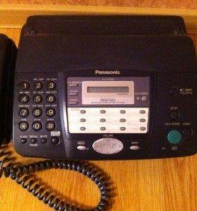 Телефон-факс Panasonic kx-ft908
