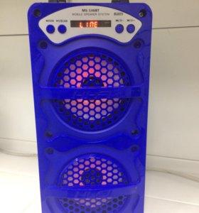 Портативная MP3 колонка MS-144( новая)