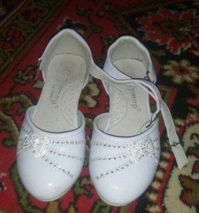 Туфли детские 25 размера ношанные
